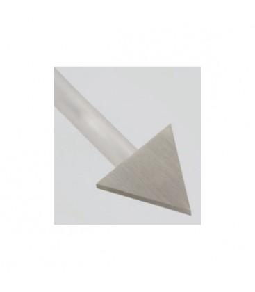 Techno 20 koncovka Trojuholník