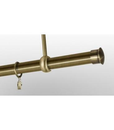 Antik Ø 25 mm - koncovka Duo tyč hladká