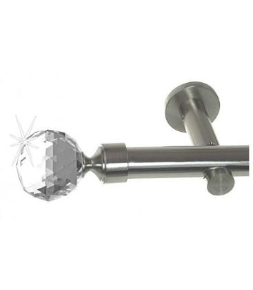 Efekt-nerezová oceľ Ø 19 mm - Crystal gula simple