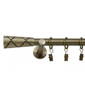 Antik Ø 19 mm - Trapezium Držiak jednoduchý simple