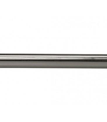 Tyč Ø25 mm Efekt nerezová oceľ