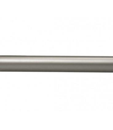 Tyč Ø25 mm Satin nickel