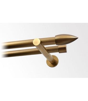 Mosiądz patynowany Ø20 mm -pocisk