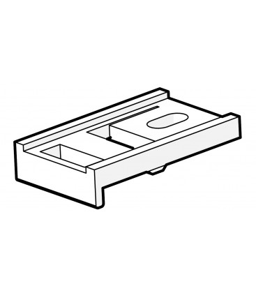 Držiak stropný jednoduchý plastový