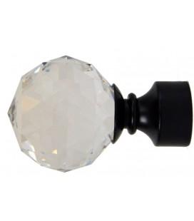 Koncovka čierna Crystal gula