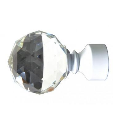 Koncovka biela Crystal gula