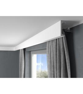 Garnižová stropná lišta MARDOM QL046 - vhodná pre LED podsvietenie