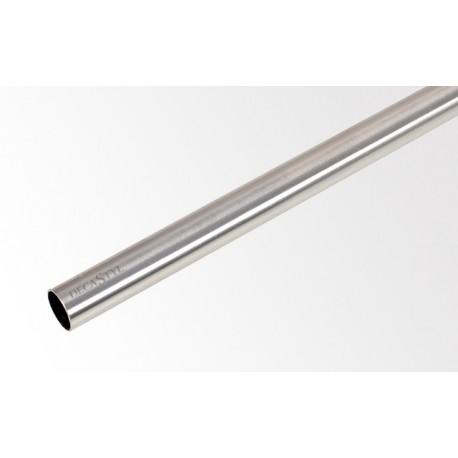 Tyč 240 cm Ø16 mm Efekt nerezová ocel