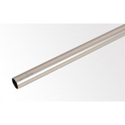 Tyč 200 cm Ø16 mm Satin nickel