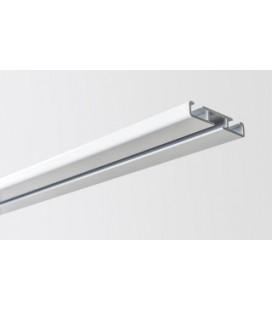 Kolajnica stropná jednoduchá biela 200cm