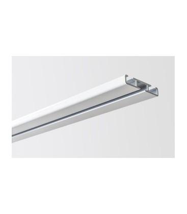 Kolajnica stropná jednoduchá biela 300mm