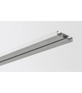 Kolajnica stropná jednoduchá streborna 250cm