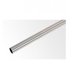 Tyč 160 cm Ø19 mm Efekt nerezová oceľ