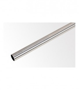 Tyč 240 cm Ø19 mm Efekt nerezová ocel