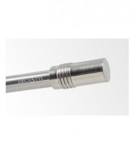 Koncovka Cylinder Efekt nerezová oceľ Ø19 mm kus