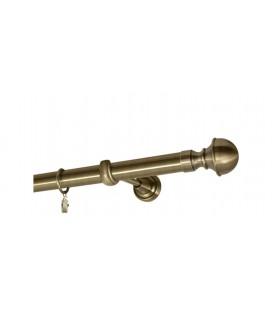 Antik Ø 25 mm - koncovka Boston tyč hladká