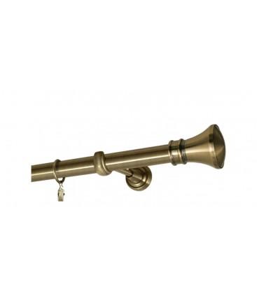 Antik Ø 25 mm - koncovka Koloseo tyč hladká