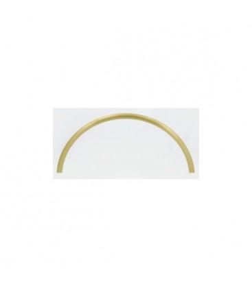 Art Deco tyč ryhovana ohnuta 20x1.0 mm