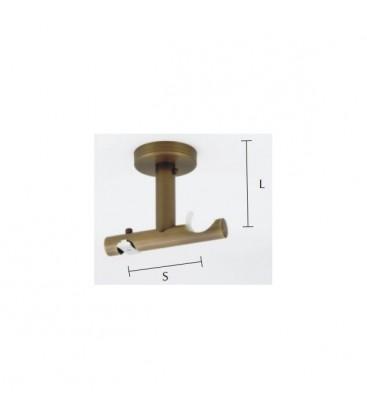 Techno 30 držiak dvojitý stropný tyč/profil